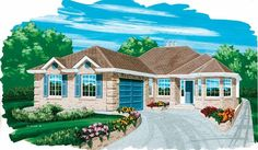 Eplans Cottage House Plan - Appealing Details - 1652 Square Feet and 3 Bedrooms from Eplans - House Plan Code HWEPL07724