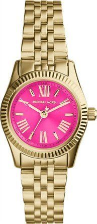 [マイケルコース] Michael Kors 腕時計 Collection Womens - Petite Lexington Gold/Pink クォーツ MK3270 [高級セーム革セット]【並行輸入品】:Amazon.co.jp:時計