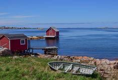 A Complete Guide to Fogo Island, Newfoundland - Travel Bliss Now Fogo Island Newfoundland, Newfoundland Canada, Newfoundland And Labrador, Fogo Island Inn, Island Tour, Desert Island, Travel Oklahoma, Boat Tours, New York Travel