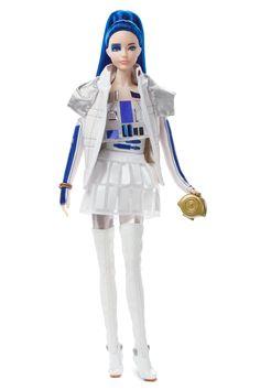 "/""Blue Lava/"" DRESS for regular or Curvy Barbie dolls"
