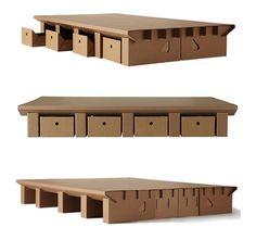 entdecken sie die tollsten m bel aus pappe die m bel aus pappe haben viele vorteile karton. Black Bedroom Furniture Sets. Home Design Ideas