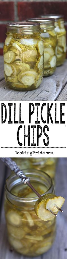 How to make and can your own dill pickles chips. It's easier than you think!