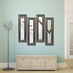 Rayne Mirrors Molly Dawn Antique Silver Wall Mirror - P28/4-16 S4