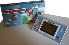 Super Mario Bros. Game & Watch Handheld game from Nintendo Vintage Video Games, Classic Video Games, Retro Video Games, Nintendo, Super Mario Bros, Game Over Man, Sweet Games, Retro Arcade Games, Penny Arcade