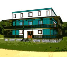 Container Home Floor Plans shipping container home plans 4 bed 4 bath - schematic design 3200