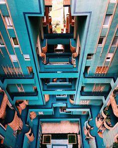 Ricardo Bofill Walden 7 #barcelona #ricardobofill #architecture #vscocam