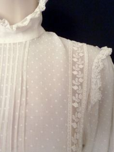ROMANTIC VINTAGE LAURA ASHLEY LATE VICTORIAN/EDWARDIAN STYLE WEDDING/DRESS, 6/8 | eBay