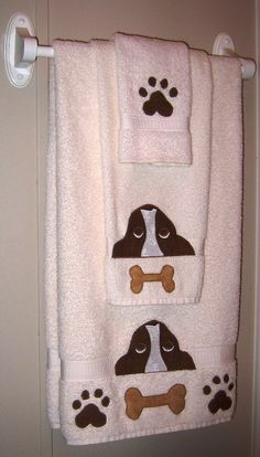 Basset Hound Towel Set!
