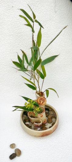 Ikebana - Latte II