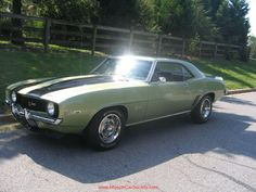 1969 Z/28 Camaro...my bff had one of these when we were in highschool in the 80's awesome even then!