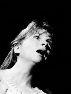 """Julie Harris in """"The Haunting"""" (1963, dir. Robert Wise) She is great in this film !"""