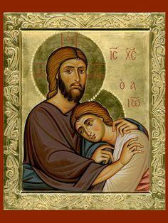 Gesù e Giovanni (Icone per mano di Fabio Nones)