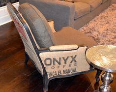 Coffee sack chair