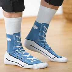 0282b6e9893e Wear these socks and look like your wearing Classic Converse Shoes  shoes   converse Happy