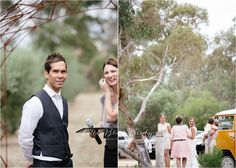 Combi Van, Wedding Car, Wedding Photography Country, Vintage, 2014, Wedding Photography - Little Black Birdy Photography, Providence Gully Farm Castlemaine http://littleblackbirdy.com.au/