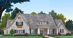 Optional Second Floor - 48351FM   1st Floor Master Suite, Bonus Room, Butler Walk-in Pantry, CAD Available, Corner Lot, Country, Den-Office-Library-Study, PDF, Southern, Split Bedrooms   Architectural Designs