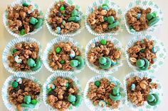 Leprechaun Granola: Recipe