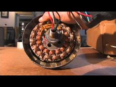 FULL HOW TO AT http://www.youtube.com/user/muddymuddymuddmann This video explains why a regular AC motor cannot be used AS IS to act as an electrical power g...