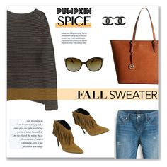 """Fall Sweater"" by snobswap ❤ liked on Polyvore featuring Alexander Wang, MICHAEL Michael Kors, Chanel, White House Black Market, Prada, Yves Saint Laurent and StellaMcCartney"