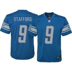 Nike Youth Home Game Jersey Detroit Matthew Stafford #9, Size: Medium, Team