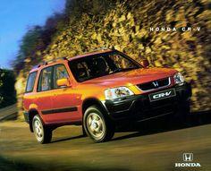Honda crv in exotic red and on vossen vvscv3 wheels for Honda cr v brochure