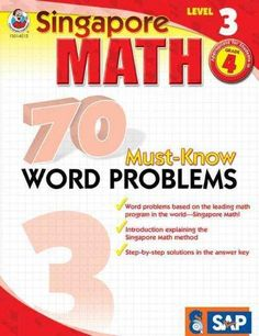 Welcome to Singapore Math the leading math program in the world! This book is…
