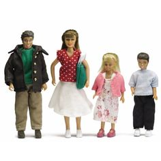 Lundby Smaland Dolls Family