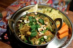 Navratan Vegetable Korma - North Indian - The Lotus and the Artichoke