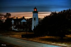 Old Point Comfort Light by James Gramm on 500px