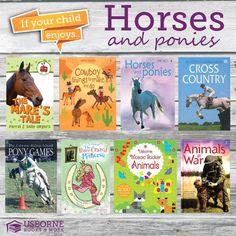 Horse Fan? Check out these Usborne Books! http://www.DaniellesBooks.com