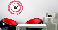 Cool Wall Clocks Wall Stickers by Dezign with a Z Wall Stickers, Wall Decals, Good House, Vinyl Designs, Cool Walls, Kids Room, Home Appliances, Wall Clocks, Interior Design