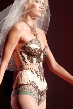 Jean Paul Gaultier Spring 2012 Couture Fashion Show Details