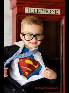 My super cutie super hero photo idea