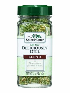 The Spice Hunter Deliciously Dill Blend, 1.5-Ounce Jar - http://spicegrinder.biz/the-spice-hunter-deliciously-dill-blend-1-5-ounce-jar/