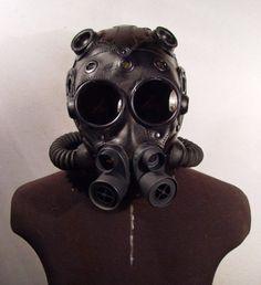 ɛïɜ Steampunk Leather Masks   Retronaut 6 ~ ɛïɜ