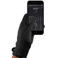 Don't let the cold affect your ability to reply to that business email (or post the perfect Instagram photo) thanks to these Single Layered Touchscreen Gloves! #holiday #holidaygifts #tech