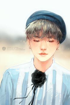 ImageFind images and videos about kpop, bts and suga on We Heart It - the app to get lost in what you love. Hoseok, Namjoon, Taehyung, Suga Swag, Pop Kpop, Maquillaje Halloween, Blood Sweat And Tears, We Are Young, Bts Drawings