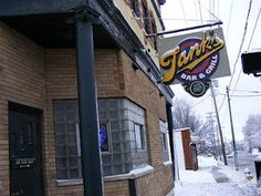 Tank's Bar and Grill 2033 Wayne Ave Dayton, Ohio 45410 Phone: Best Grilled Cheese, Yellow Springs, Dive Bar, Bar Grill, Cool Bars, Great Places, Grilling, Restaurants, Dayton Ohio