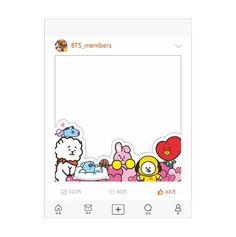 Pop Stickers, Printable Stickers, Line Friends, Cards For Friends, Kpop Diy, Bts Birthdays, Cute Notes, Instagram Frame, Bts Book