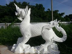 Foam Carving, Thai Art, Garden Sculpture, Decorations, Outdoor Decor, Gifts, Diy, Inspiration, Home Decor