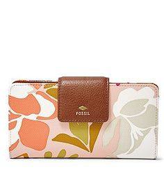 Fossil Mother's Day Tab Clutch Wallet