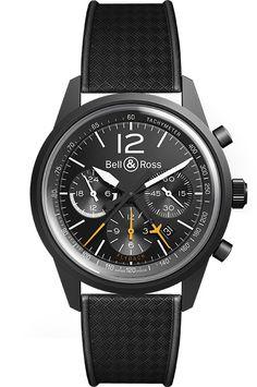 TRIBUTE TO A FABULOUS AIRCRAFT Bell & Ross the BR 126 BLACKBIRD Limited Edition (PR/Pics http://watchmobile7.com/data/News/2013/09/130906-bell_and_ross-BR_126_BLACKBIRD.html) (3/4) #watches #bellandross @Belle C & Ross