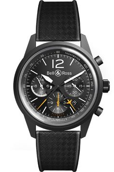 TRIBUTE TO A FABULOUS AIRCRAFT Bell & Ross the BR 126 BLACKBIRD Limited Edition (PR/Pics http://watchmobile7.com/data/News/2013/09/130906-bell_and_ross-BR_126_BLACKBIRD.html) (3/4) #watches #bellandross @Belle C & Ross