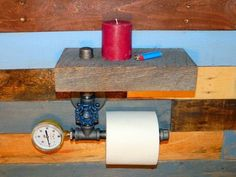Industrial Toilet Paper Holder Industrial Home by TheCleverRaven
