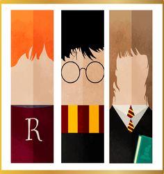 Marcadores de Página Trio Harry Potter - Pó de Flu