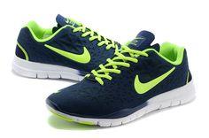 Nike Free TR Fit 3 Breathe Mens Squadron Blue Volt 487789 414      #fashion #sneakers