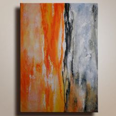Original Abstract Painting on Canvas Contemporary by itarts, $199.00