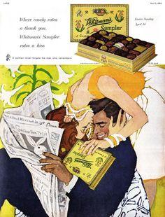 Nada como un buen chocolate. Ilustración en la concepción de Al Parker.