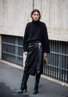 Now this is how you do all black.