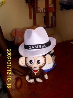Hello Gambia! :) <3 #TikiMonkey #Jackpotjoy